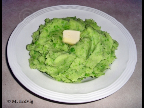 Mashed Potatoes for Saint Patrick's Day