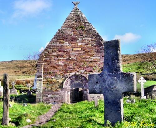Kilmalkedar Church, Dingle Ireland
