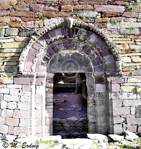 Kilmalkedar Door, Co. Kerry, Dingle Ireland