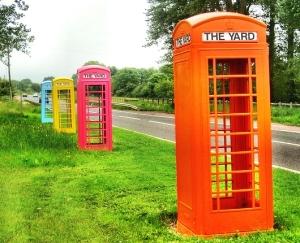 Irish Phone Booths
